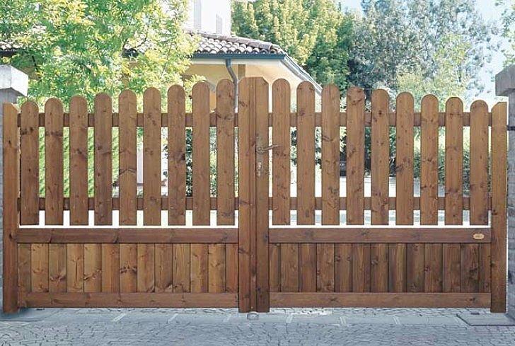 Fustabric cb muebles cocinas ba os parquet y puertas - Portones de madera para exterior ...